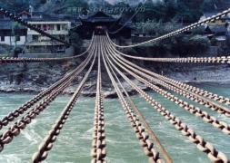 点击打开景区内景点:泸定铁索桥的详细介绍…